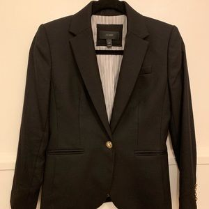 JCREW English Wool Parke Blazer • EUC